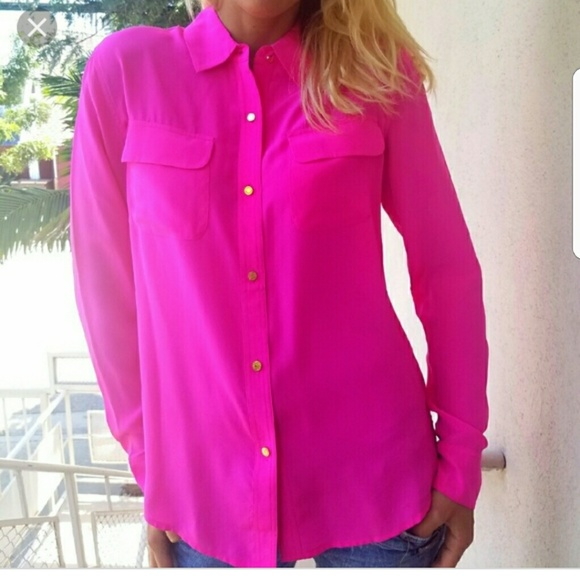 fb5f81006d Juicy Couture Tops - 🔴ON SALE 🔴JUICY COUTURE HOT PINK BLOUSE 4